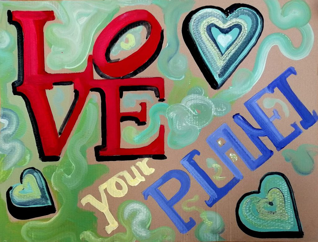 Plakat: Love your Planet